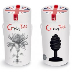 G Plug Twist 6-function Noir Buttplug 8 Product Image
