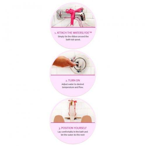 WaterSlyde Aquatic Stimulator - Pink 7 Product Image