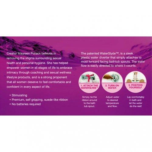 WaterSlyde Aquatic Stimulator - Pink 9 Product Image