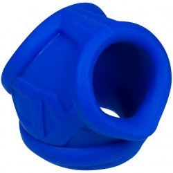 Oxball OxSling Cockring and Ball-Stretching Power Sling - Cobalt Blue Product Image
