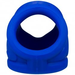 Oxball OxSling Cockring and Ball-Stretching Power Sling - Cobalt Blue 4 Product Image