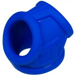 Oxball OxSling Cockring and Ball-Stretching Power Sling - Cobalt Blue 5 Product Image