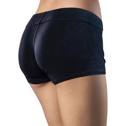 Temptasia - Harness Briefs - Large - Black 5 Product Image