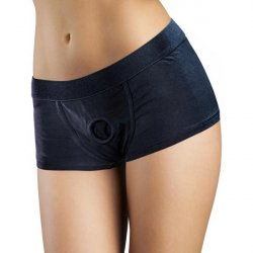 Temptasia - Harness Briefs - X-Large - Black 4 Product Image