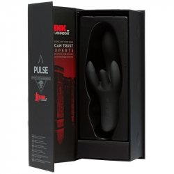 Kink - Pulse Ultimate 20-function Rechargeable 4 Motor Silicone Vibrator - Black 6 Product Image