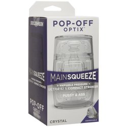 Main Squeeze Pop Off Optix - Crystal Pussy & Ass 6 Product Image