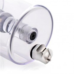 Anal Pump Cylinder Attachment with Stimulator Shaft 2 Product Image