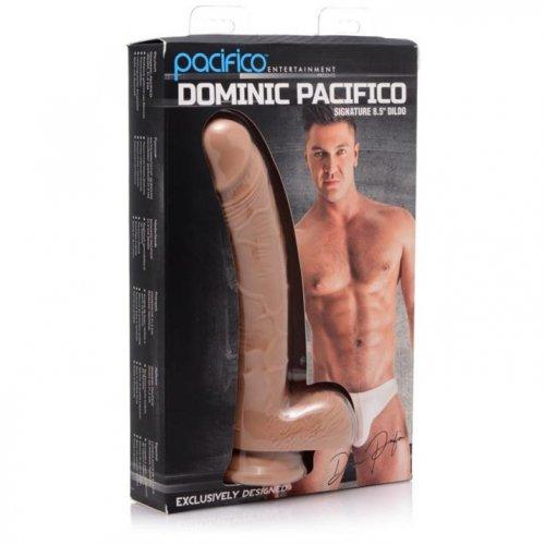 "Dominic Pacifico Signature 8.5"" Silicone Dildo 5 Product Image"