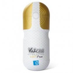 Vulcan - Love Skin - Vibrating Wet Anus Masturbator - White 6 Product Image