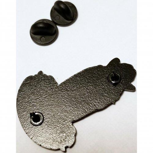 Wood Rocket Debbie Does Dallas Soft Enamel Pin 3 Product Image