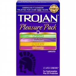 Trojan Pleasure Pack Lubricated - 12 Pack Product Image