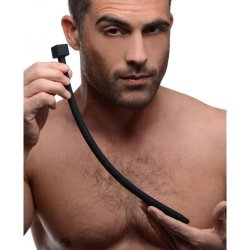 Bolted Deluxe Silicone Urethral Sounds - Black 4 Product Image