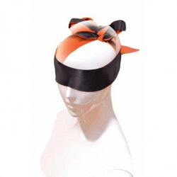 The 9's: Orange Is The New Black Satin Sash Blindfold or Restraint Product Image