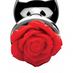 Red Rose Anal Plug - Small 3 Product Image