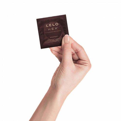 Lelo: Hex Respect XL Hexagonal Latex Condoms - 12 pack 3 Product Image
