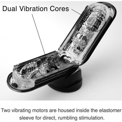 Tenga Flip 0-Zero Electronic Vibration Stroker - Black 4 Product Image