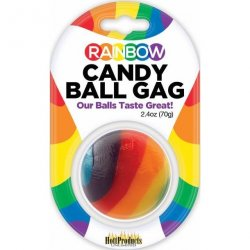 Rainbow Candy Ball Gag Product Image