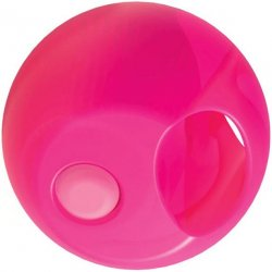 Rock Candy - Gummy Ball 5-function Mini Finger Vibe - Bubblegum Pink 2 Product Image