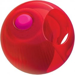Rock Candy - Gummy Ball 5-function Mini Finger Vibe - Cinnamon Red 2 Product Image