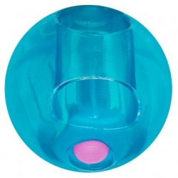Rock Candy - Gummy Ball 5-function Mini Finger Vibe - Blueberry Blue 1 Product Image