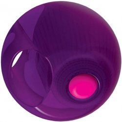 Rock Candy - Gummy Ball 5-function Mini Finger Vibe - Jelly Bean Purple 2 Product Image