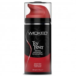 Wicked Toy Fever Waterbased Warming Lubricant - 3.3 oz. Product Image