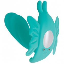 Evolved The Butterfly Effect Rechargeable Dual Stim - Teal Product Image