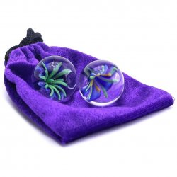 "Adam & Eve 1"" Diameter Glass Ben Wa Balls Product Image"