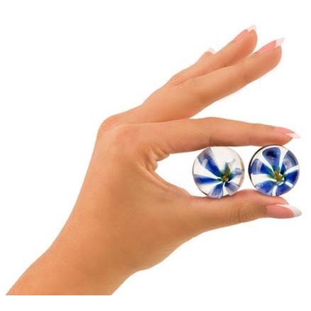 "Adam & Eve 1"" Diameter Glass Ben Wa Balls 3 Product Image"