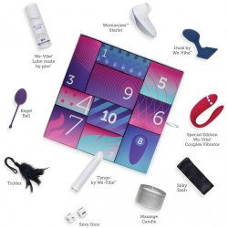 We-Vibe Discover 10 Day Intimate Gift Box Collection Product Image