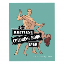 Wood Rockets Dirtiest Coloring Book Ever Product Image