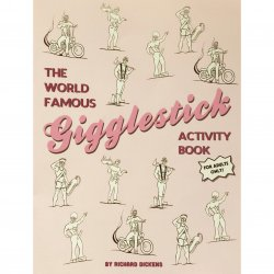Wood Rockets The World Famous Gigglestick Activity Book by Richard Dickens Product Image