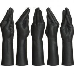 Kink - Dual Density SECONDSKYN Fist Fuckers Stretching Hand - Black 2 Product Image