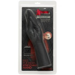 Kink - Dual Density SECONDSKYN Fist Fuckers Stretching Hand - Black 5 Product Image