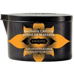 Kama Sutra Massage Candle - Coconut Pineapple - 6oz Product Image
