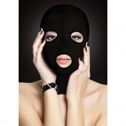 Shots Ouch! Subversion Mask - Black Product Image