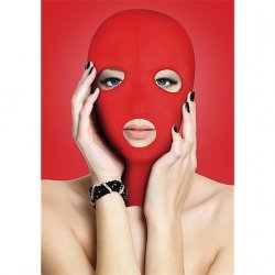 Shots Ouch! Subversion Mask - Red Product Image