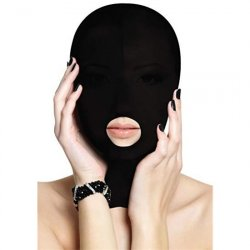 Shots Ouch! Submission Mask - Black Product Image