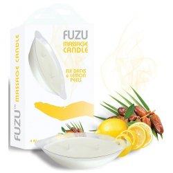 Fuzu Massage Candle - Fiji Dates & Lemon Peels Product Image
