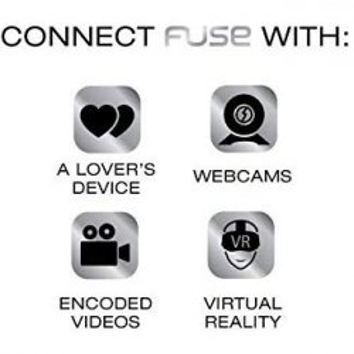 OhMiBod Fuse Interactive Bluetooth Dual Stim Vibe - Black 7 Product Image