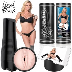 Pornstar Signature Series - Rechargeable Vibrating Pussy - Alexis Fawx Product Image