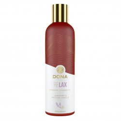 Dona Essential Massage Oil Relax - Lavender and Tahitian Vanilla - 4oz. Product Image