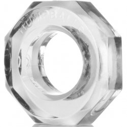 Ox Balls Humpballs Super Elastic Cock Ring - Clear Product Image