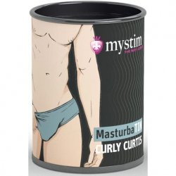 Mystim MasturbaTIN Curly Curtis - Waves Product Image