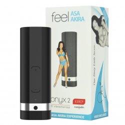 Kiiroo: Onyx2 Teledildonic Masturbator - Asa Akira Experience Product Image