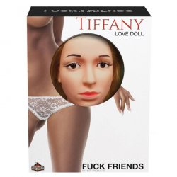 Fuck Friends Tiffany Inflatable Love Doll With Vibrating Vagina Product Image