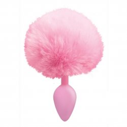 Cottontails Silicone Bunny Tail Plug - Pink Product Image