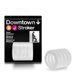 X5 Men Downtown BJ Stroker - Clear Product Image