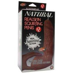 Natural Real Skin #2 Penis - Brown Product Image