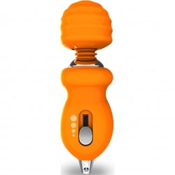 Vive Too Cute Pocket Sized Massager - Tangerine Product Image